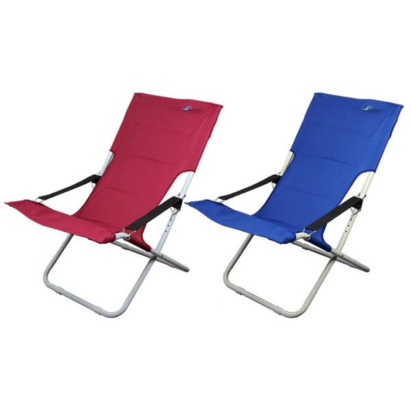 피요르드 디럭스 체어 의자 CPCH-DL1024 (버건디/블루)/로킹/락킹/필드/의자/캠핑/레져/야외용